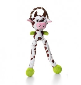 Charming/Petstages Thunda Tugga Leggy cow hondenspeelgoed
