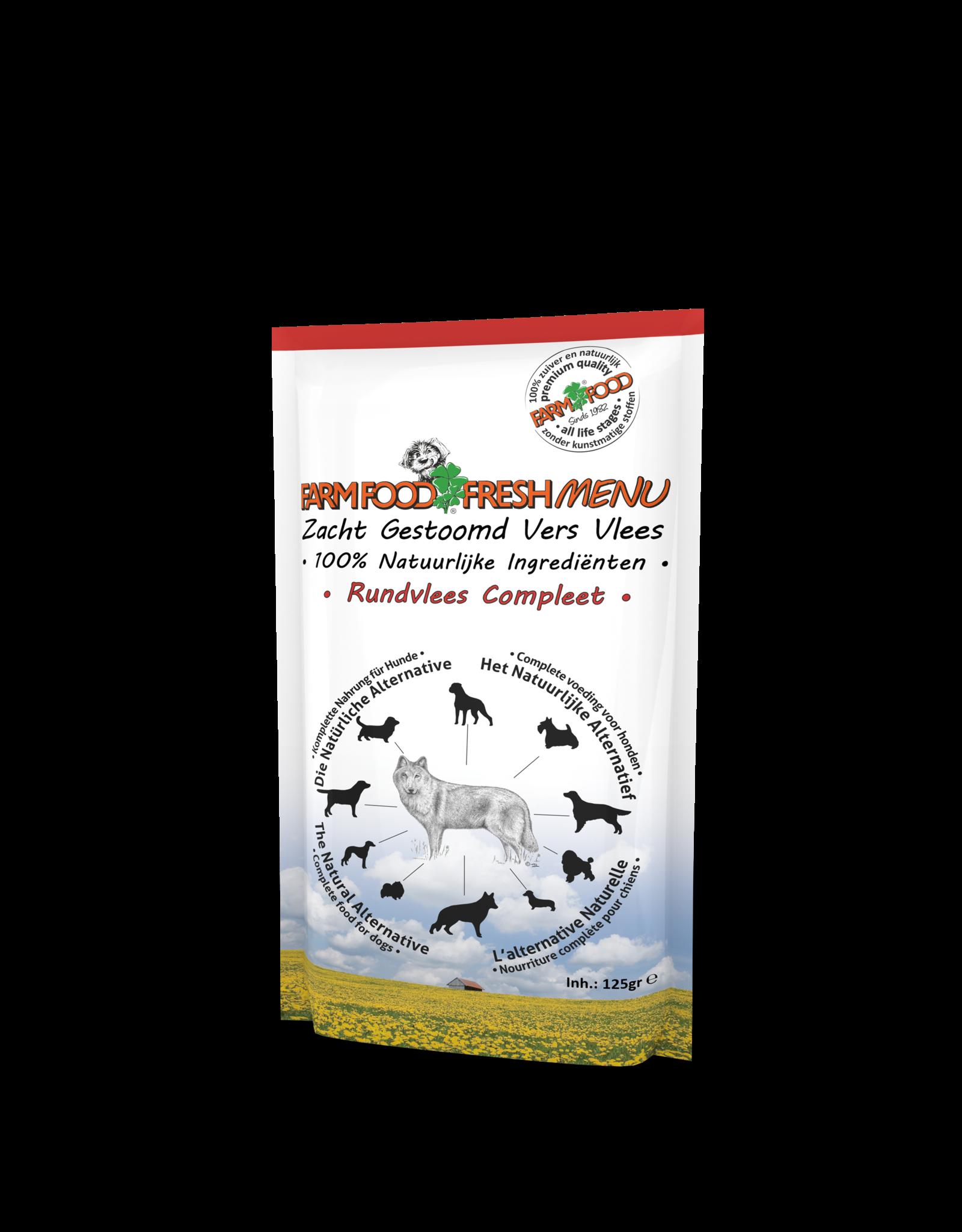 Farm Food Fresh Menu