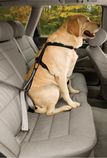 Kurgo Direct To Seat Belt Tether with Carabiner - Black