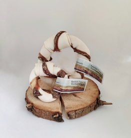 Carnilicious rawhide donut runderslokdarm