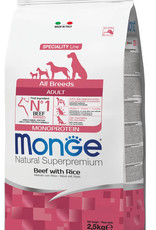 Monge Specialty line All Breeds Adult Beef and Rice