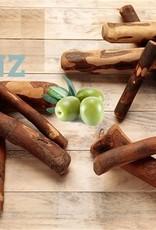 Olivewood kauwstok