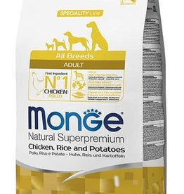 Monge All Breeds Adult Chicken, Rice & Potatoes