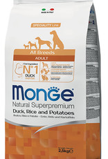 Monge Specialty line All Breeds Adult Duck, rice & potatoes