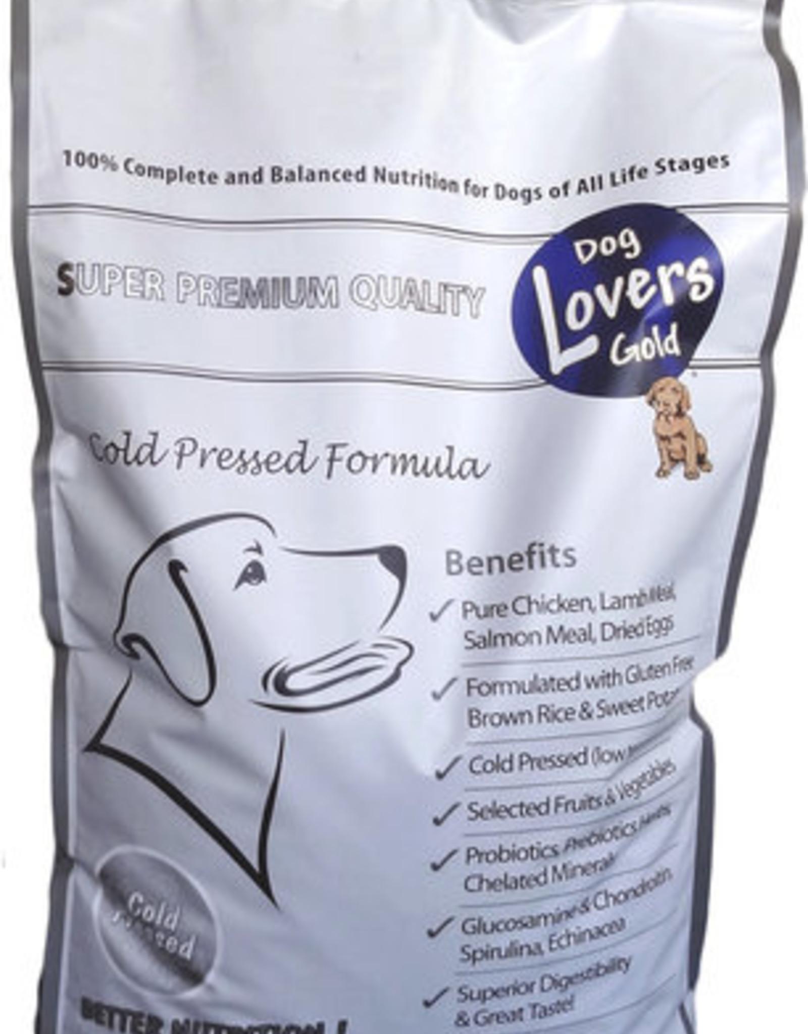 Dog lovers gold Original koudgeperst