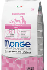 Monge Specialty line All Breeds Adult Pork, Rice & Potatoes