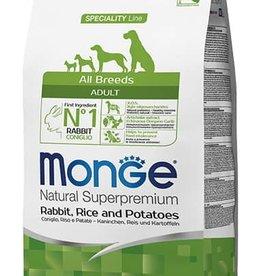 Monge All Breeds Adult Rabbit, rice & potatoes