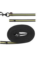Trixie Sporting Fusion Track Liner 10m-17mm  Zwart en Geel  voor honden