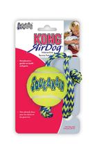 Kong Air squeaker ball + touw M