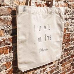 Canvas Tas • I run wild. I run free.