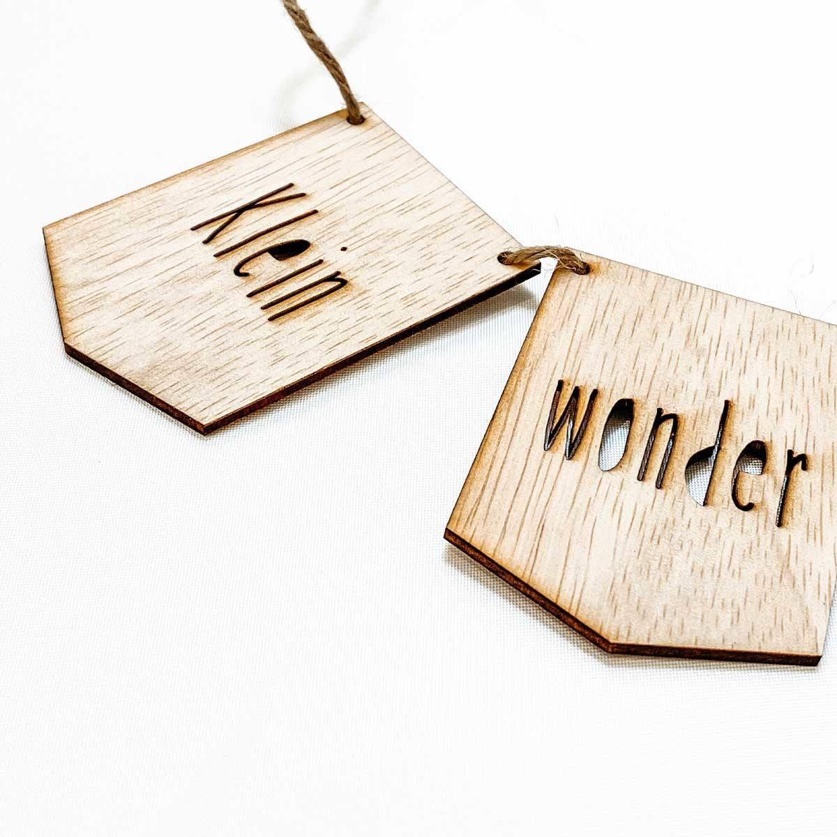 Houten slinger • Klein Wonder