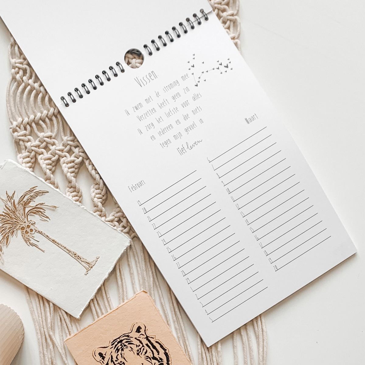 Sterrenbeeld kalender ❤
