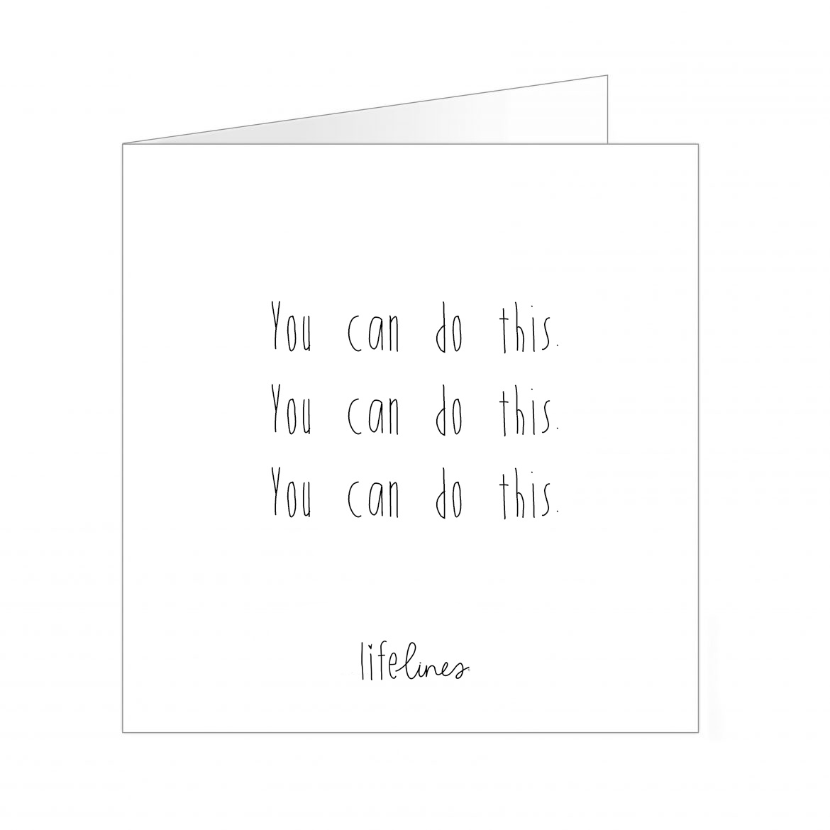Wenskaart • You can do this