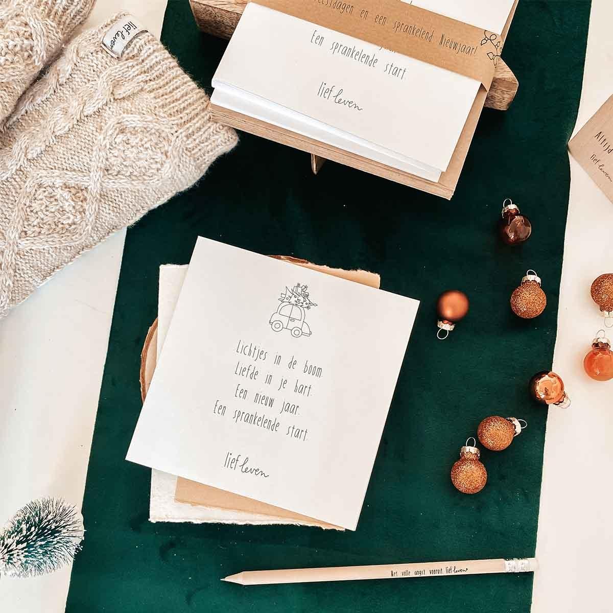 Kerstkaarten set 2020 • 12 stuks