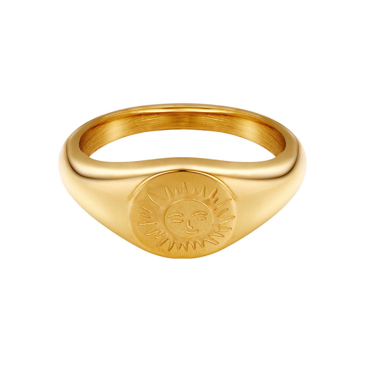 Ring zonnekind • met zon