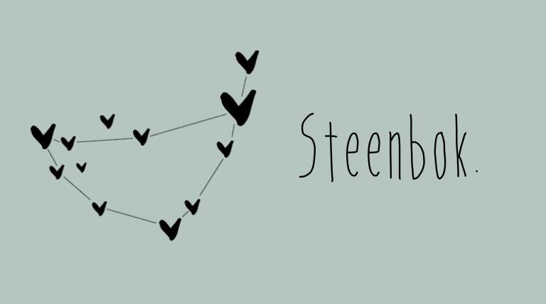 Het seizoen van sterrenbeeld Steenbok is aangebroken!