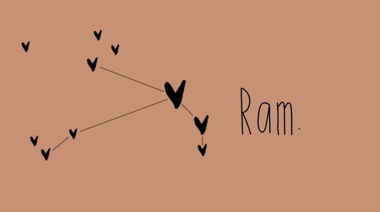 Ram, jouw seizoen is aangebroken. Lees hier over de liefdesmatch en alle eigenschappen.