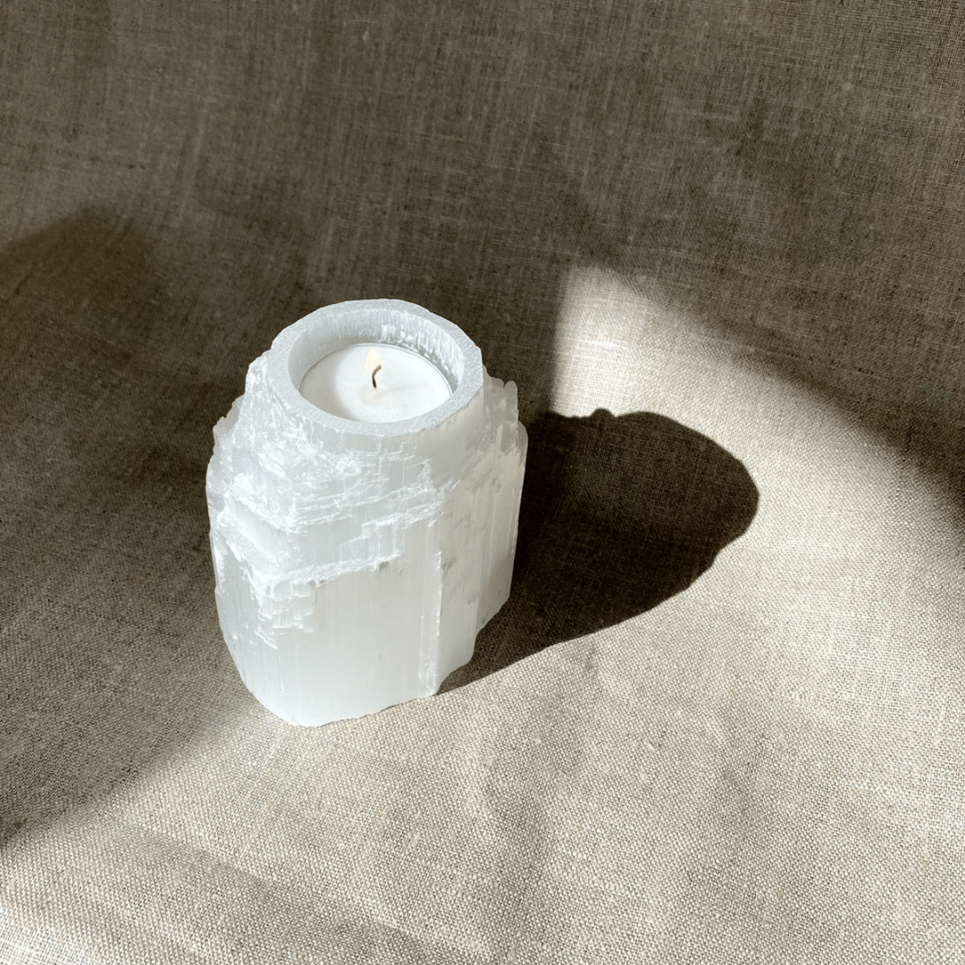 Seleniet Waxinelichthouder