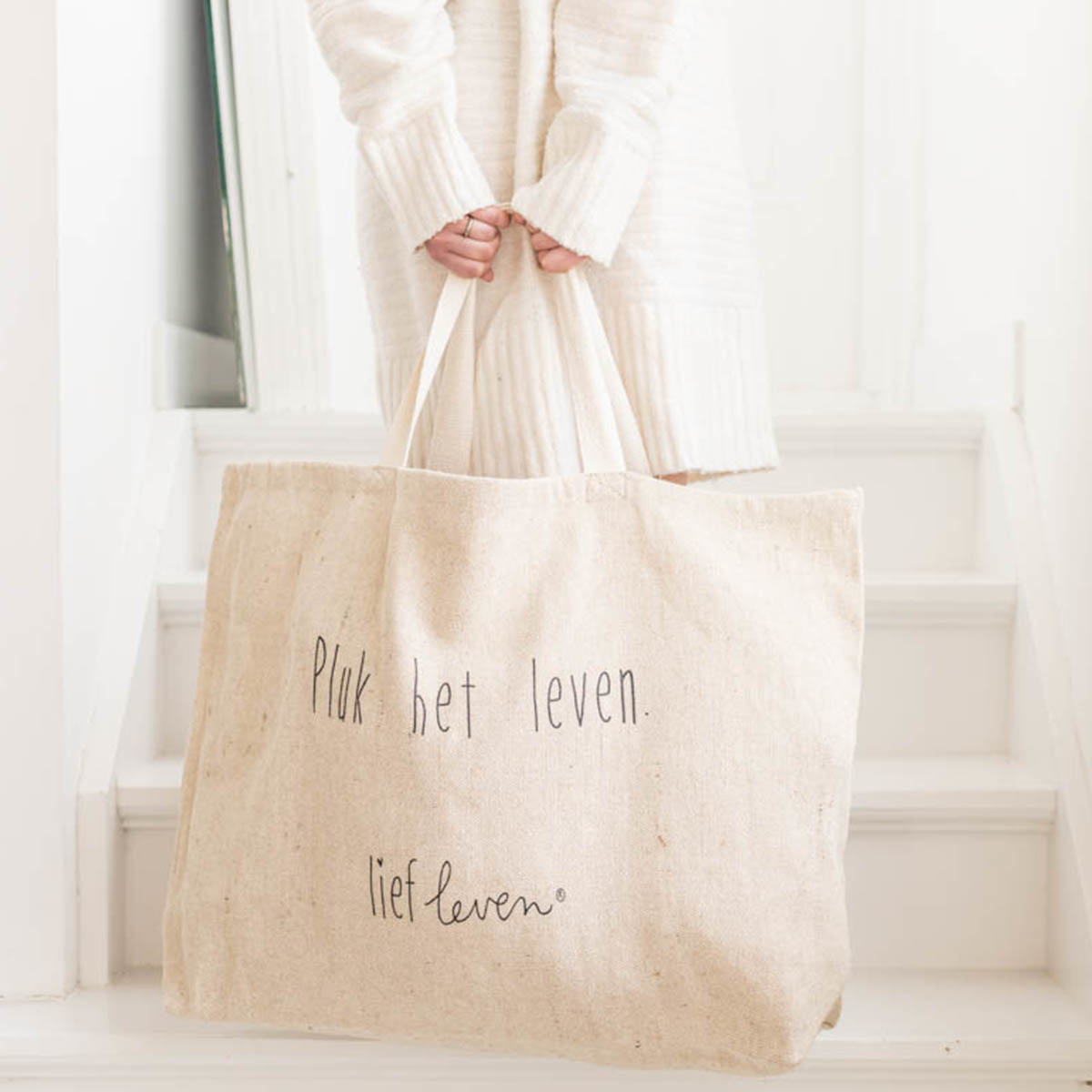 Grote shopper • Pluk het leven