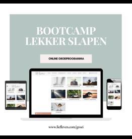 Bootcamp: lekker slapen
