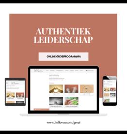 Groeiprogramma • Authentiek leiderschap