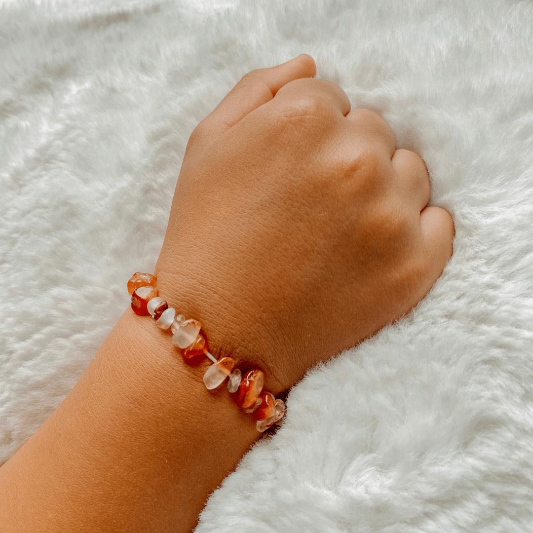 Edelsteen armband kind • Verschillende soorten