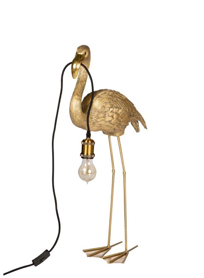 Flamingo lamp zonder kap - 34x16x75