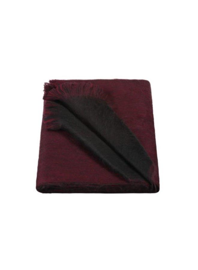 Dubbel geweven shawl - Alpaca