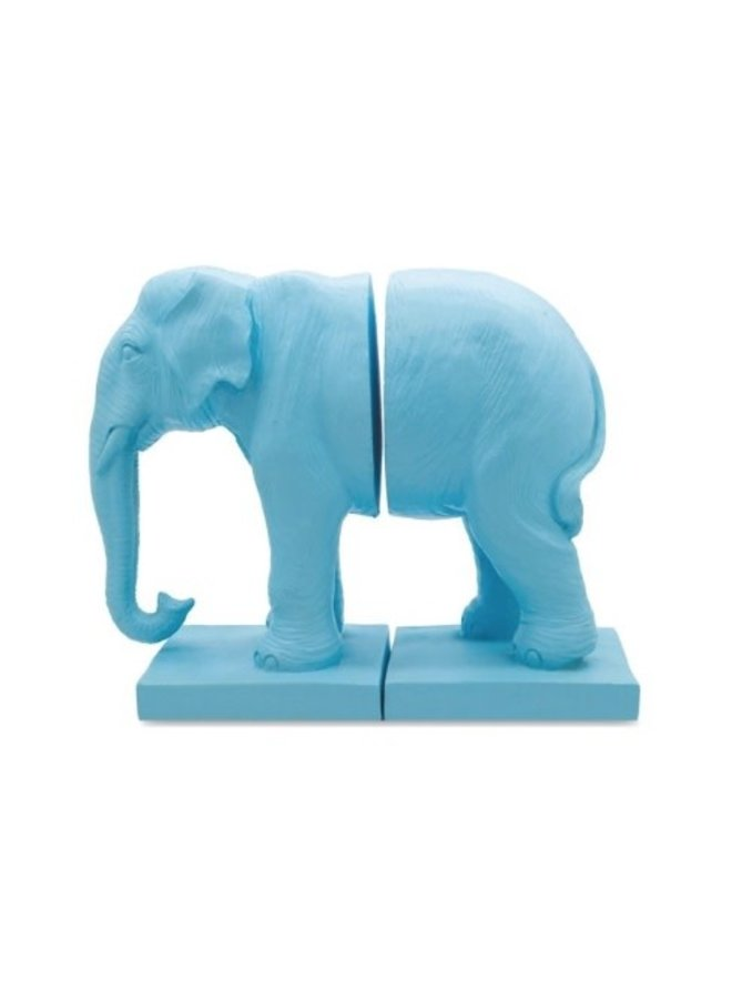 LOCO LAMA Bookend Blue Elephant - Lab. Stores