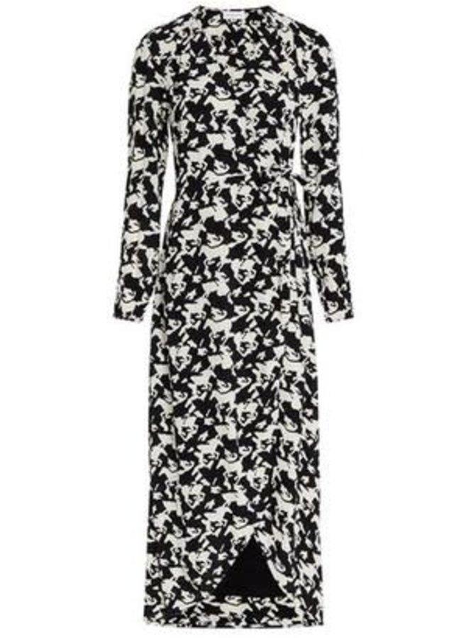 Natasja Dress Pied de Horse - Fabienne Chapot