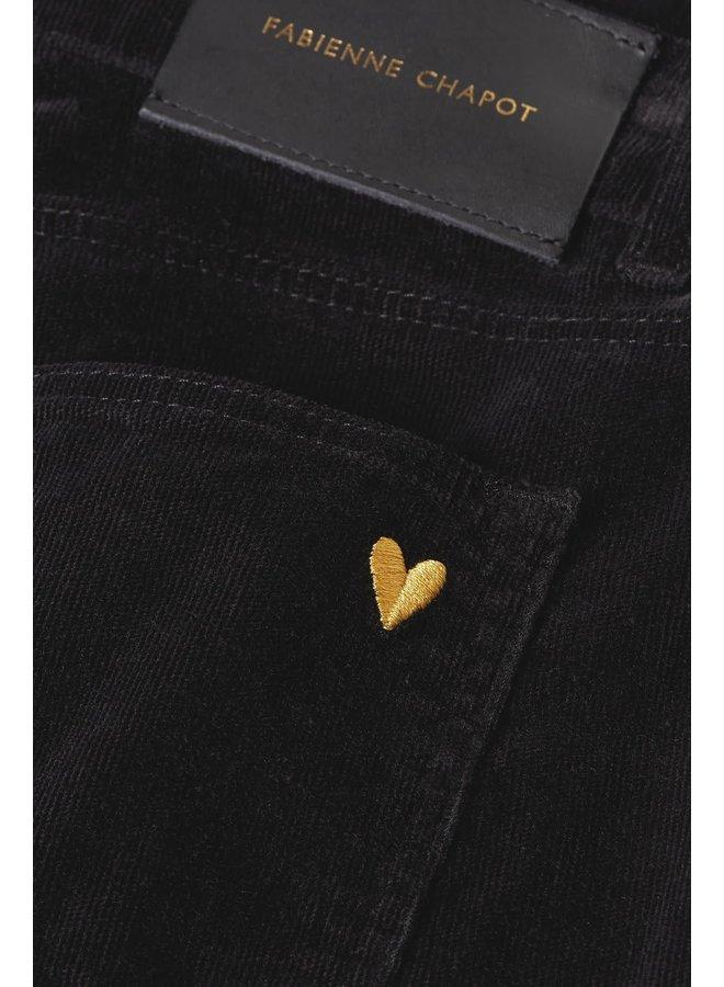 Eva Corduroy Flare Trousers - Fabienne Chapot