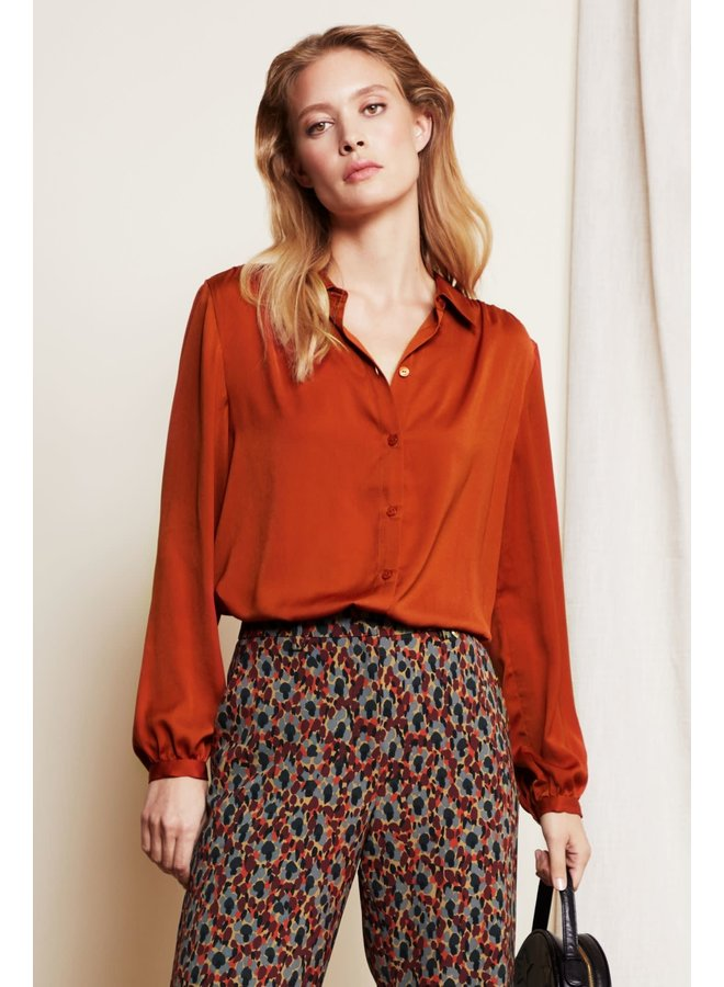 Mira Solid Blouse
