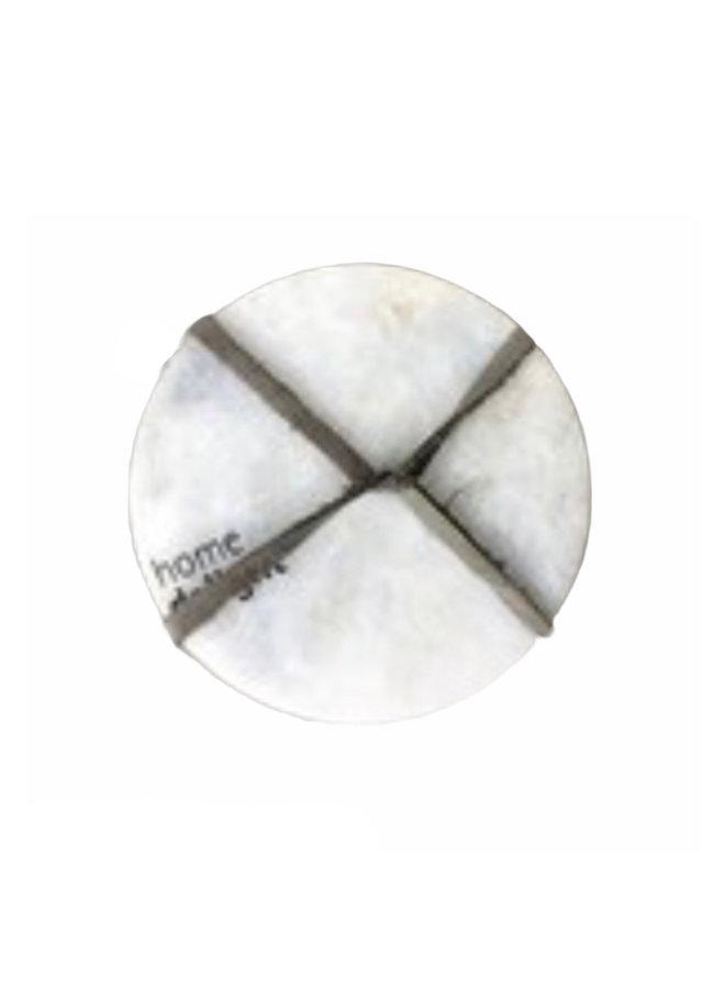 Marble Coasters (set van 4) - wit