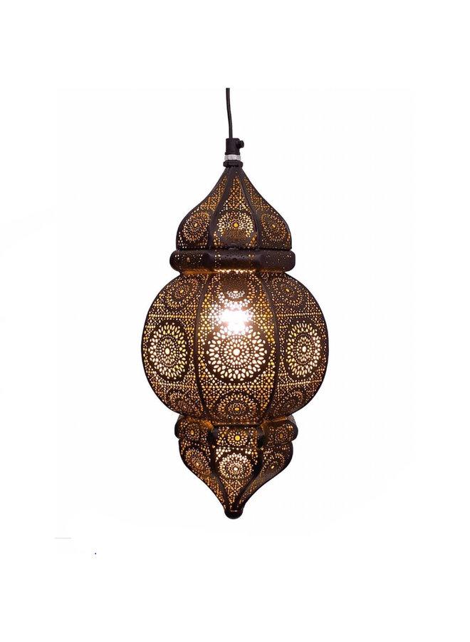 Hanglamp  oosters zwart