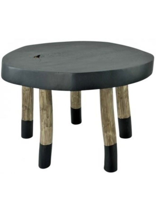 Salon/ bijzet tafel black