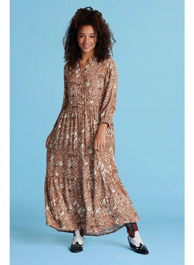 Dress - Nature's Hug - Salted Caramel -SALE