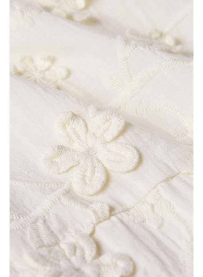 Leo Blouse Cream White - Fabienne Chapot - SALE