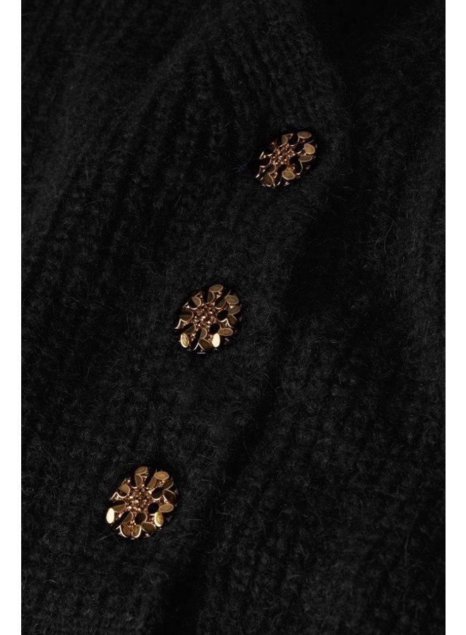Starry Cardigan Black - Fabienne Chapot