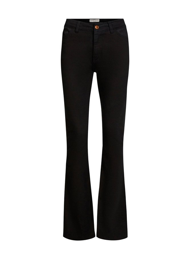 Eva Solid Flare Trousers - Fabienne Chapot