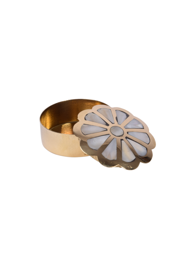 Flower Ring/ teeth box - A la Collection
