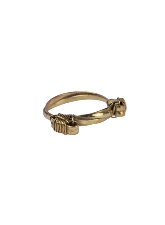 Elephant hair ring - A la Collection