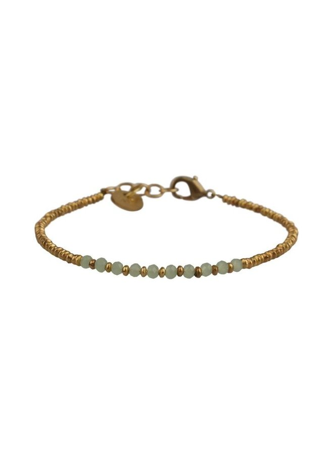 Stone bracelet Jade - A la Collection