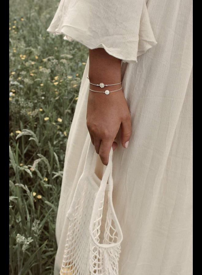 Daisy Bracelet Blue - A la Collection