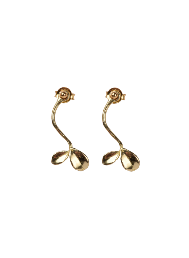 Sprout pair of earrings - A la Collection