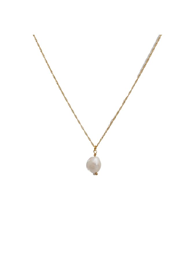 Necklace with freshwater pearl - A la Collection