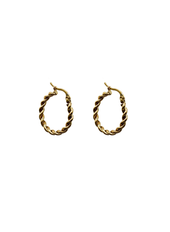 Twine Hoops - A la Collection