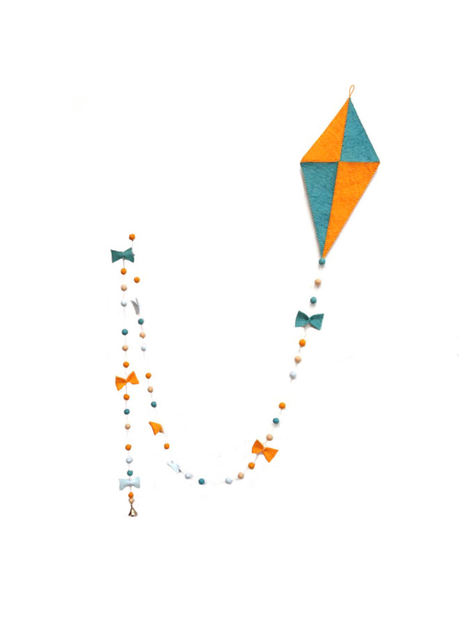 Vlieger KIT | vlieger oranje