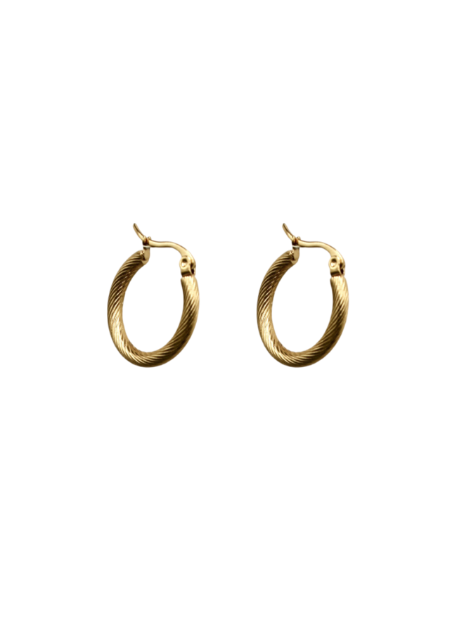 Twisted Hoops - A la Collection