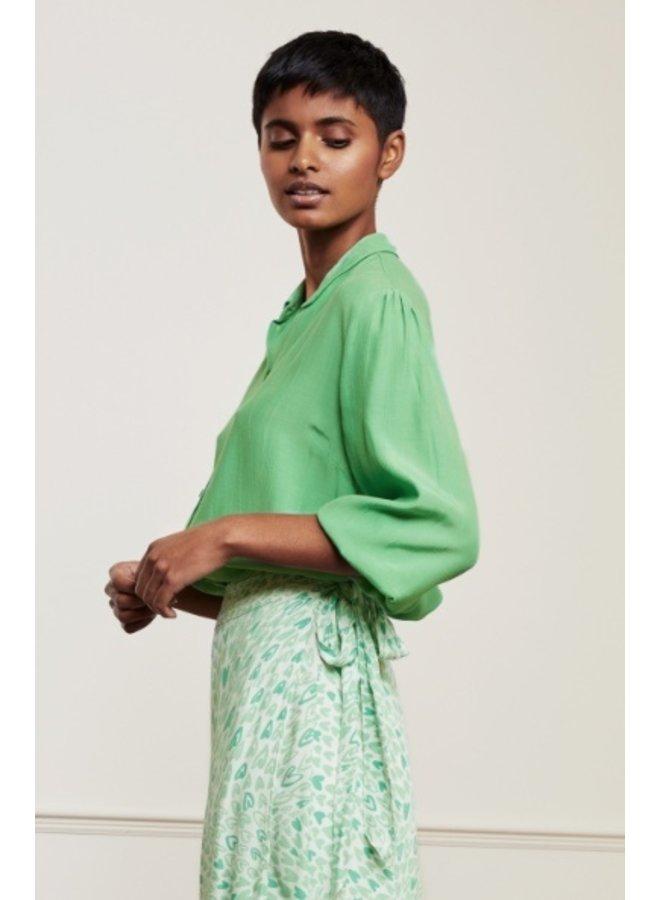 Gina Blouse Sea Green - Fabienne Chapot
