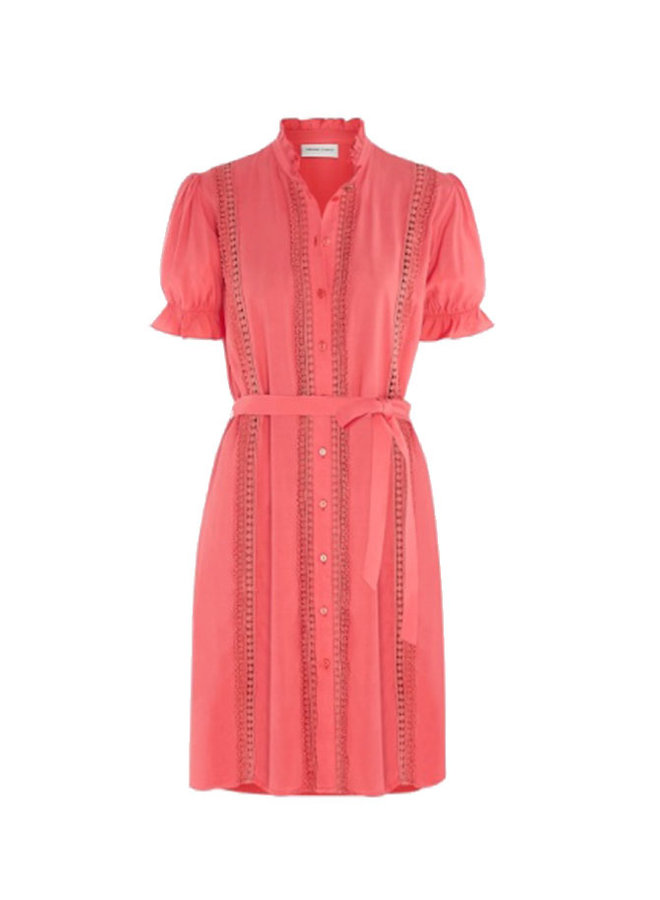 Alice Dress Powder Pink - Fabienne Chapot
